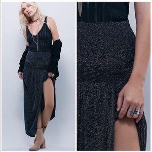 NEW Free People x Bec & Bridge Glactica Midi Skirt